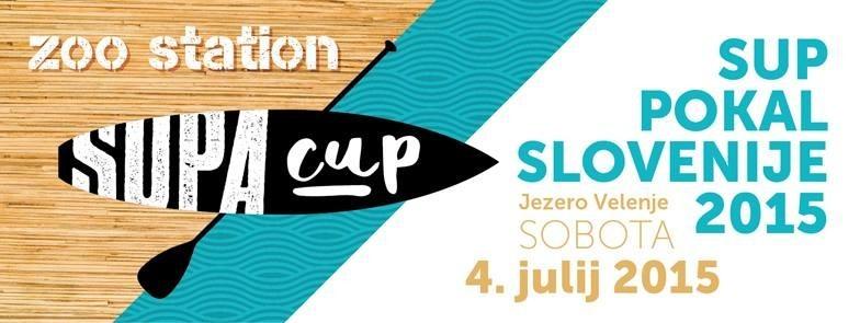SUP pokal ZOO Station Velenje, Jezero Velenje Sobota 04.07.2015
