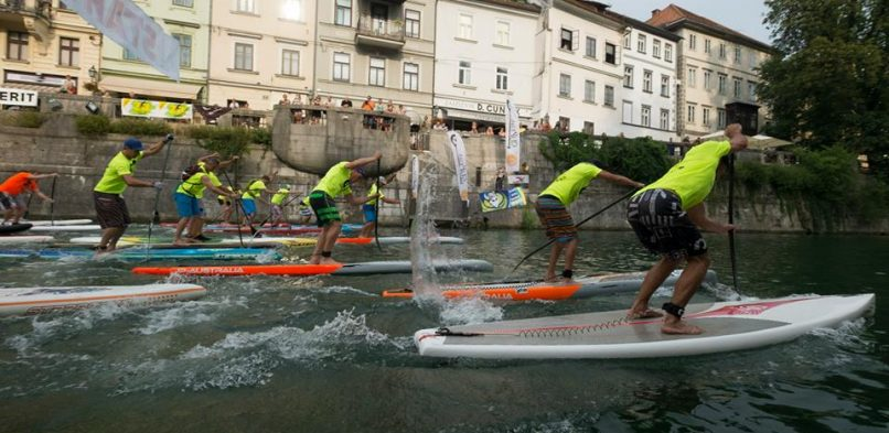 Ljubljanica paddle challenge 2016