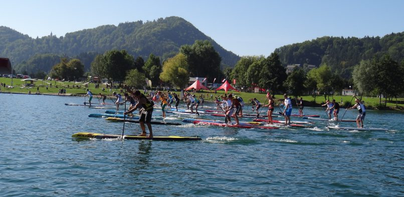 PADDLE THE LAKE 2018 – zaključna tekma SUP pokala Slovenije 2018