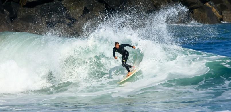 DP v surfanju: Ujusansa Atlantik Majstr 2015